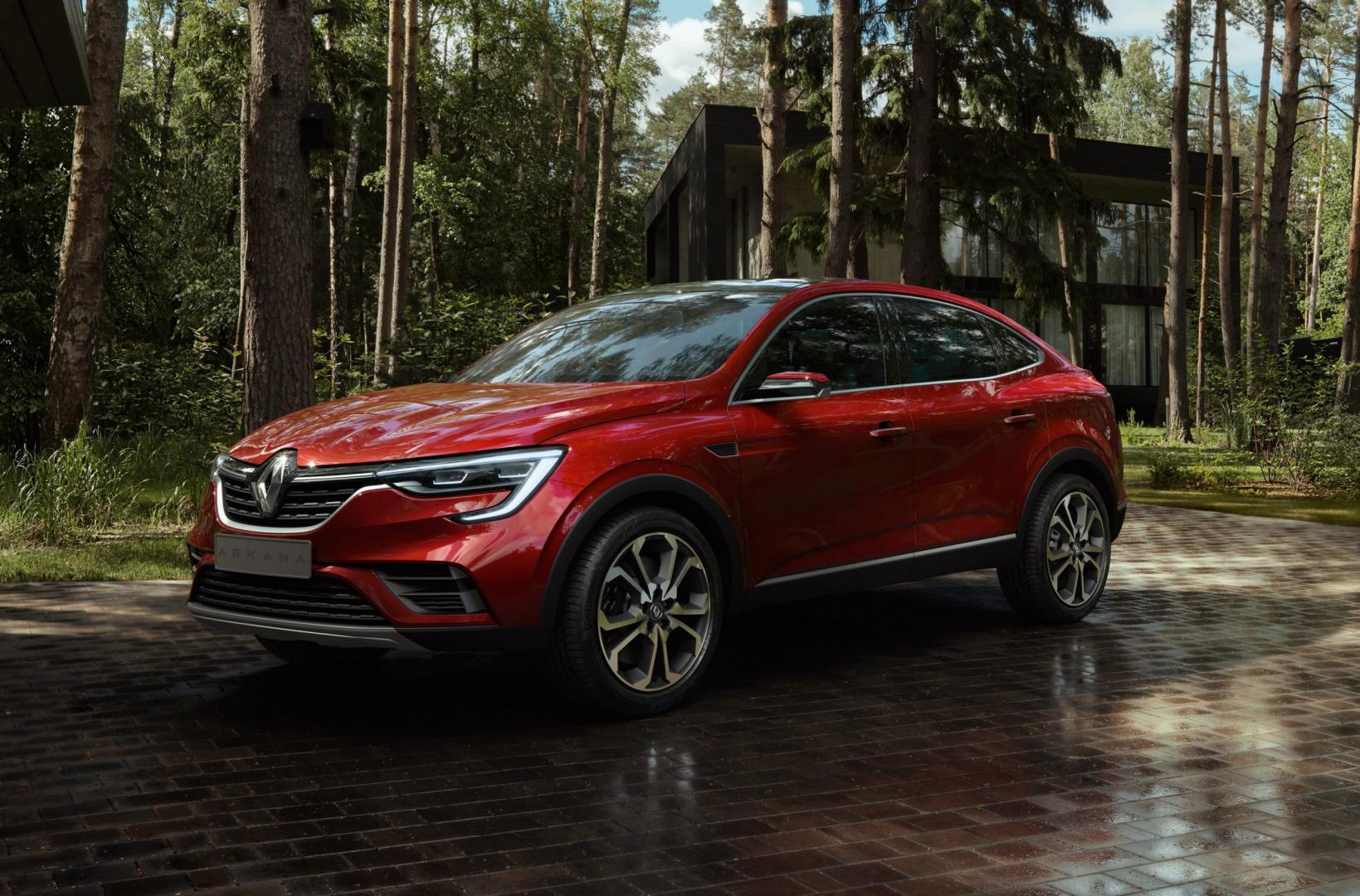 Renault Arkana voorkant 2018