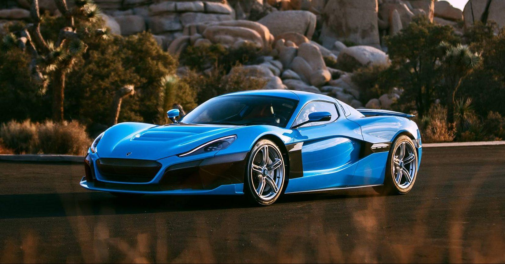 rimac c two champagne