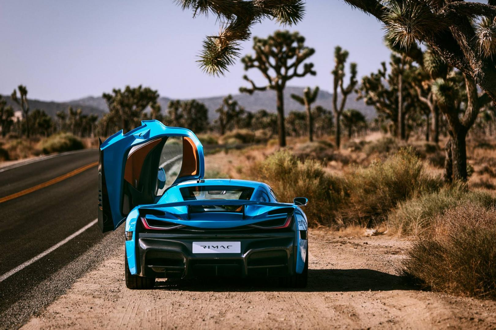 Rimac C two californie