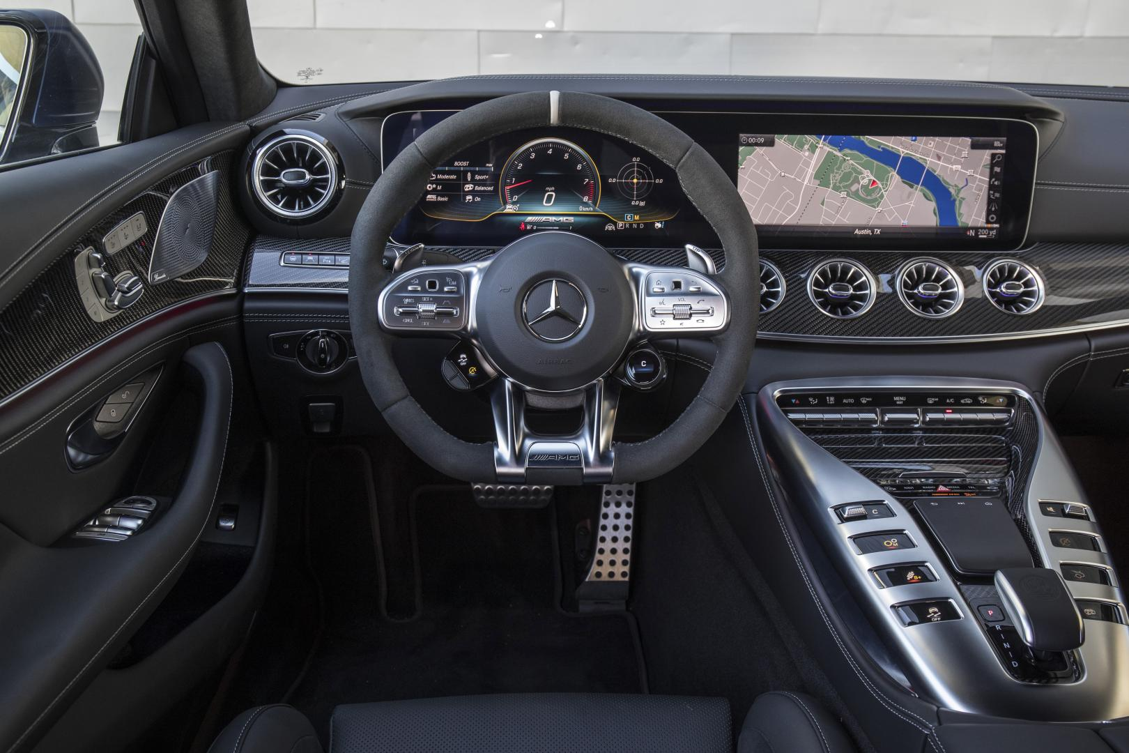 Mercedes-AMG GT 63 S 4-door Coupe: 1e rij-indruk