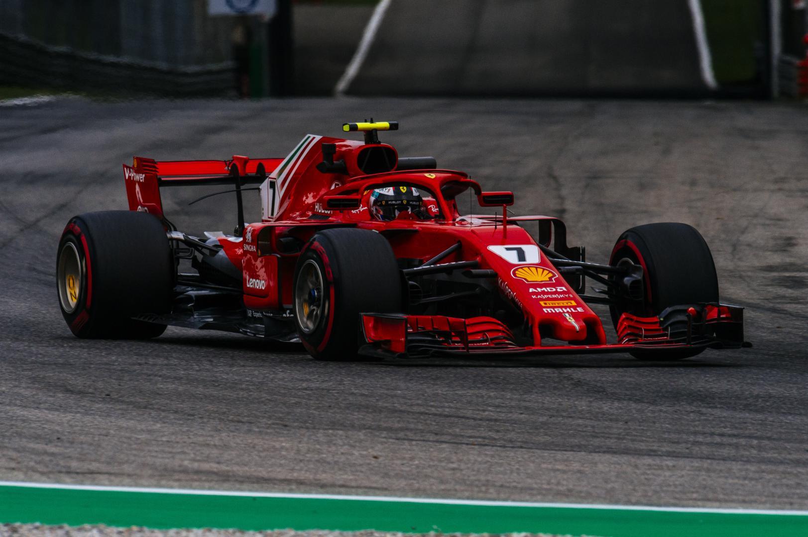 3e vrije training van de GP van België 2018
