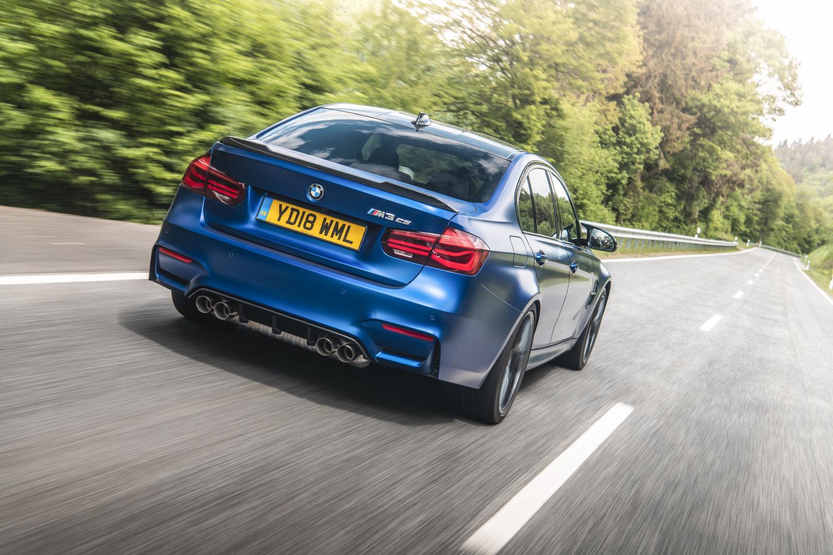 BMW M3 CS achterkant
