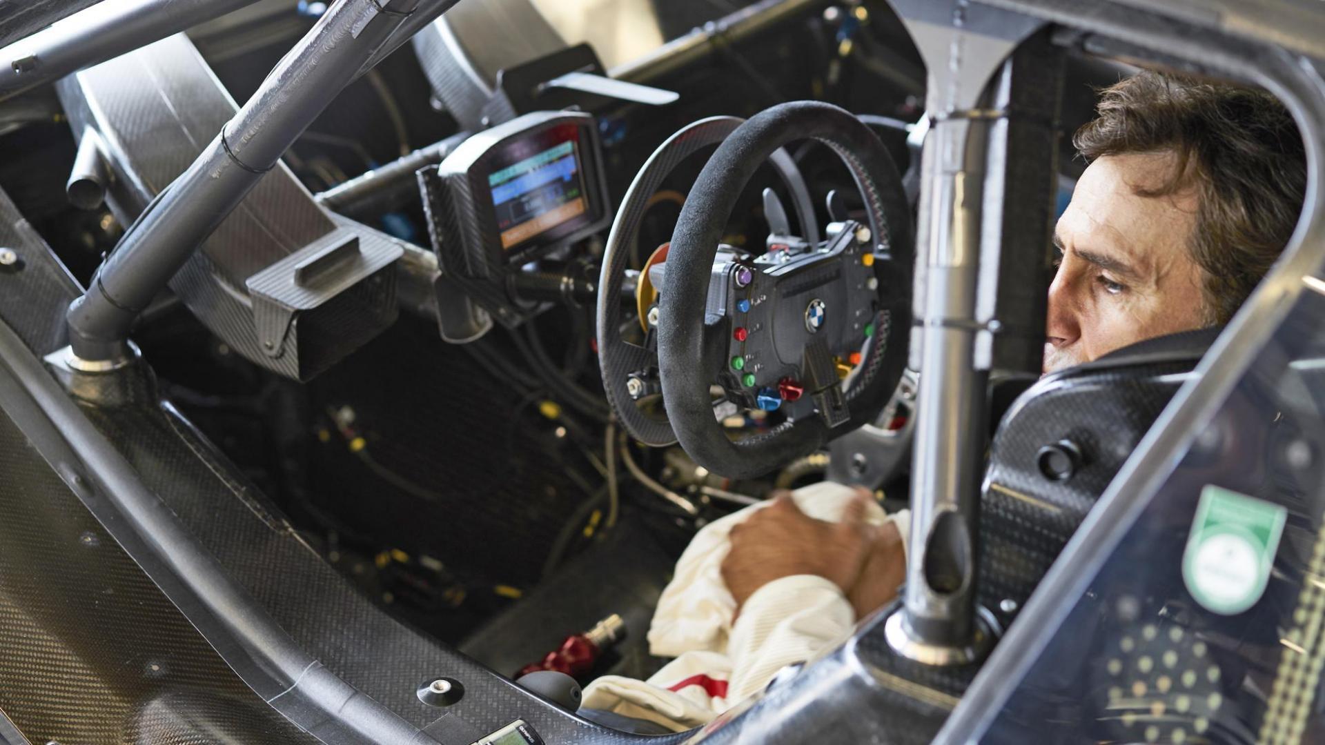 BMW M4 DTM Zanardi rijden zonder benen