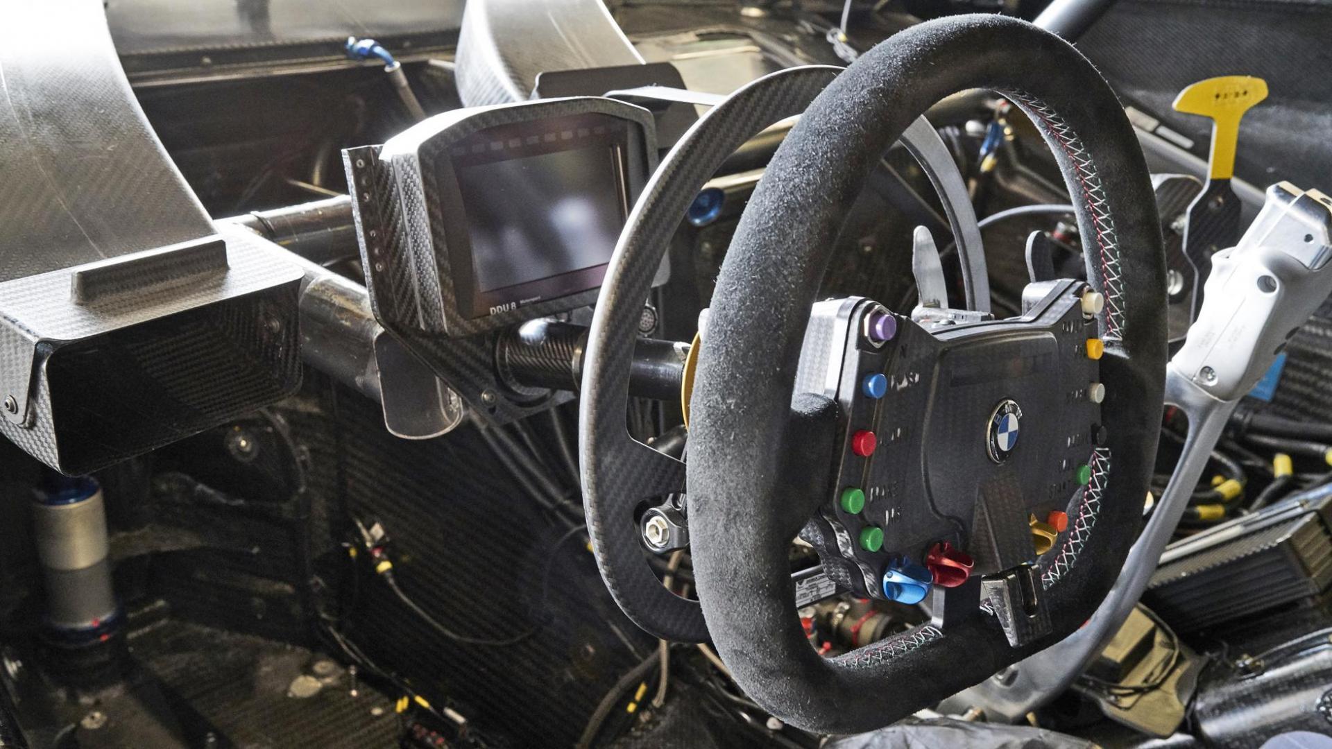 BMW M4 DTM cockpit 1