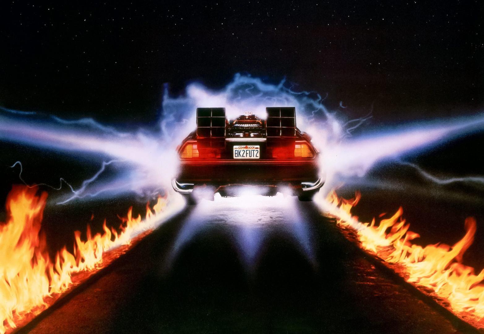 Back to the Future DeLorean DMC-12