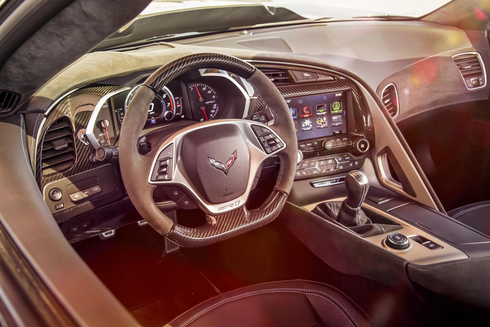 Chevrolet Corvette ZR1 interieur