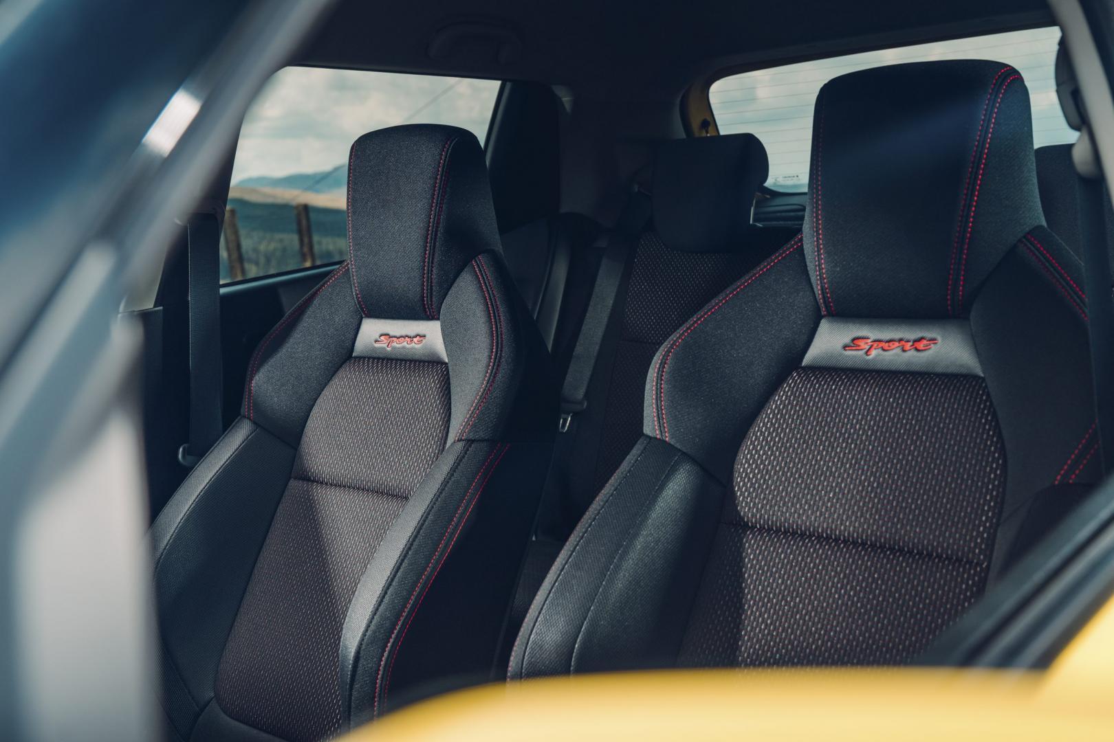 Suzuki Swift Sport interieur