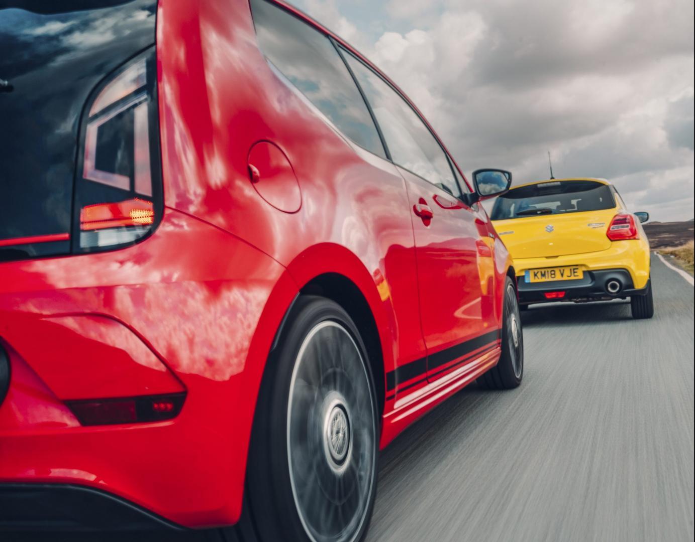Suzuki Swift Sport vs Volkswagen Up GTI