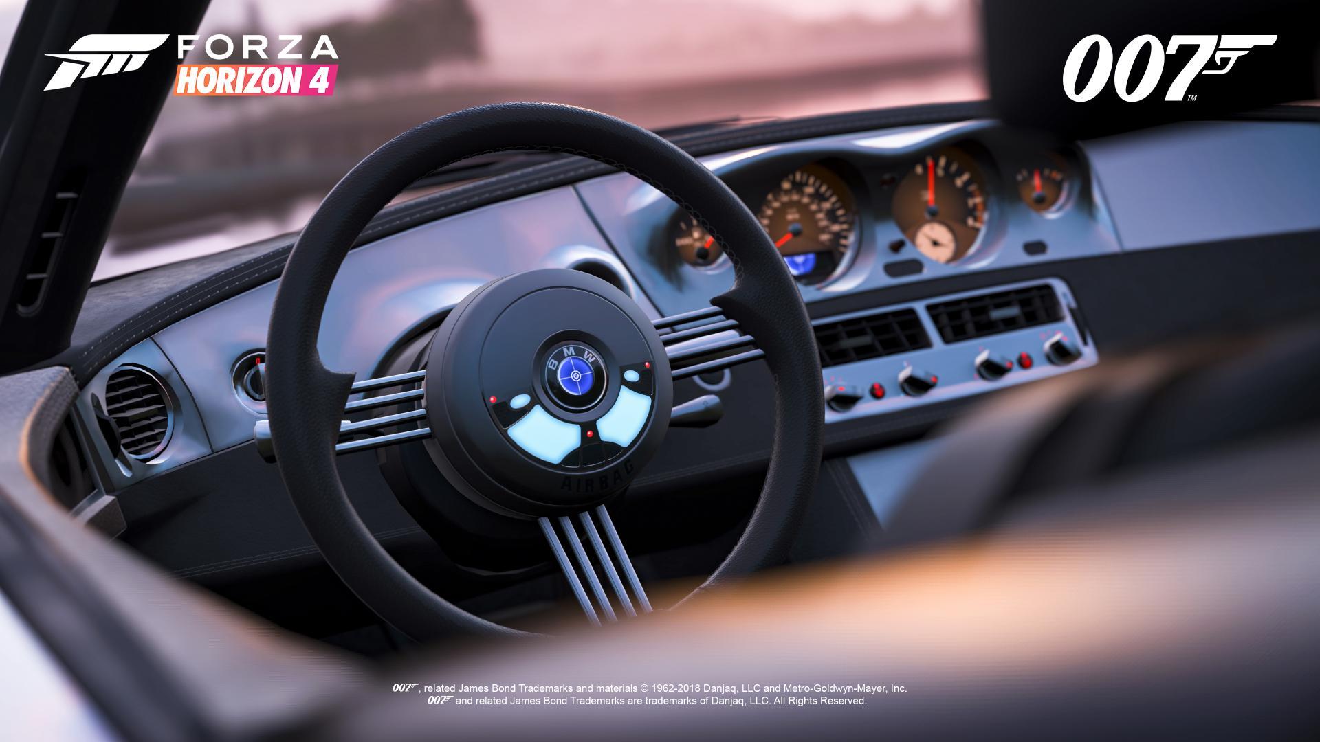 FH4 Best of Bond BMW Z8 Interior