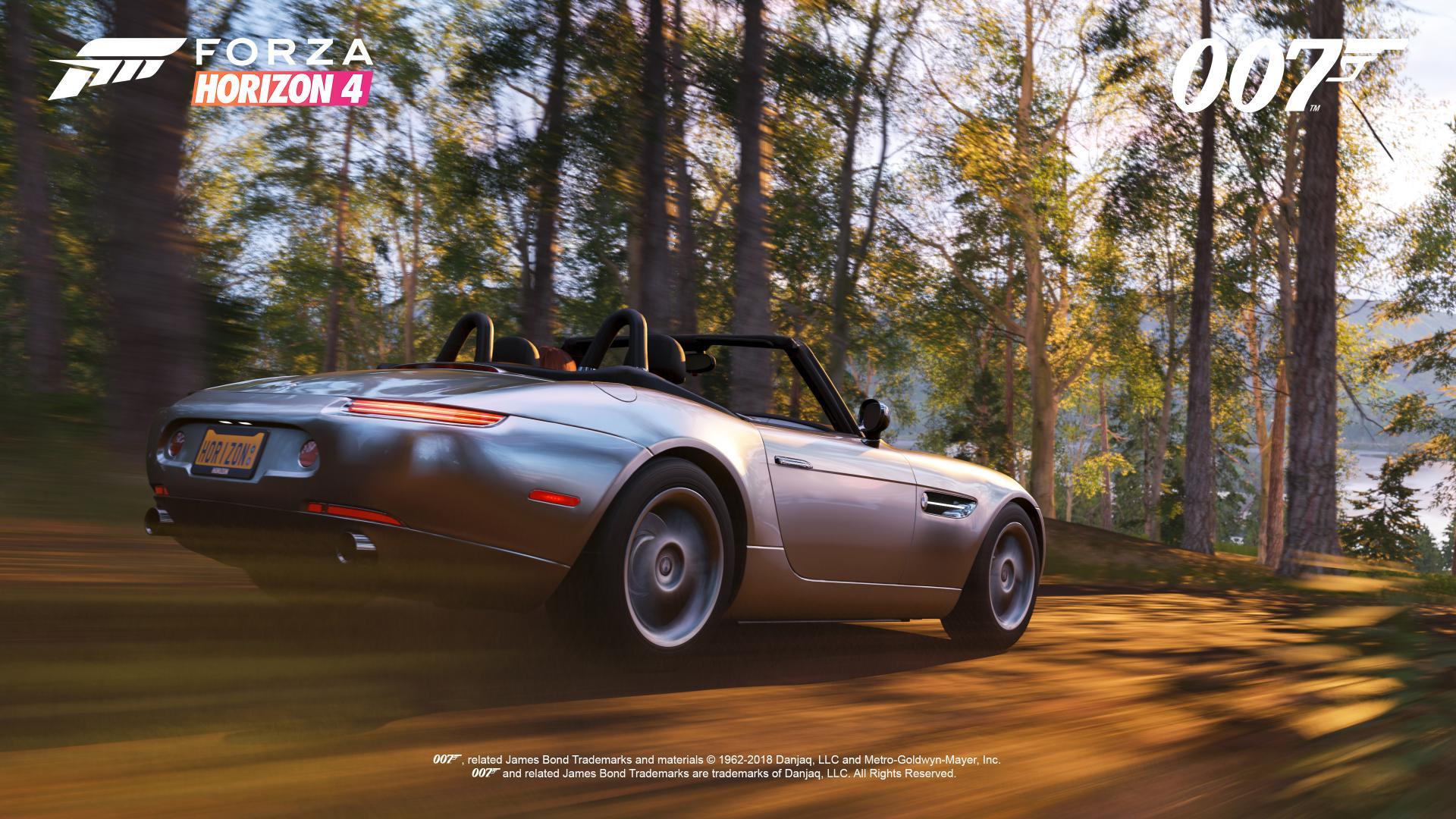 FH4 Best of Bond BMW Z8 Sprint