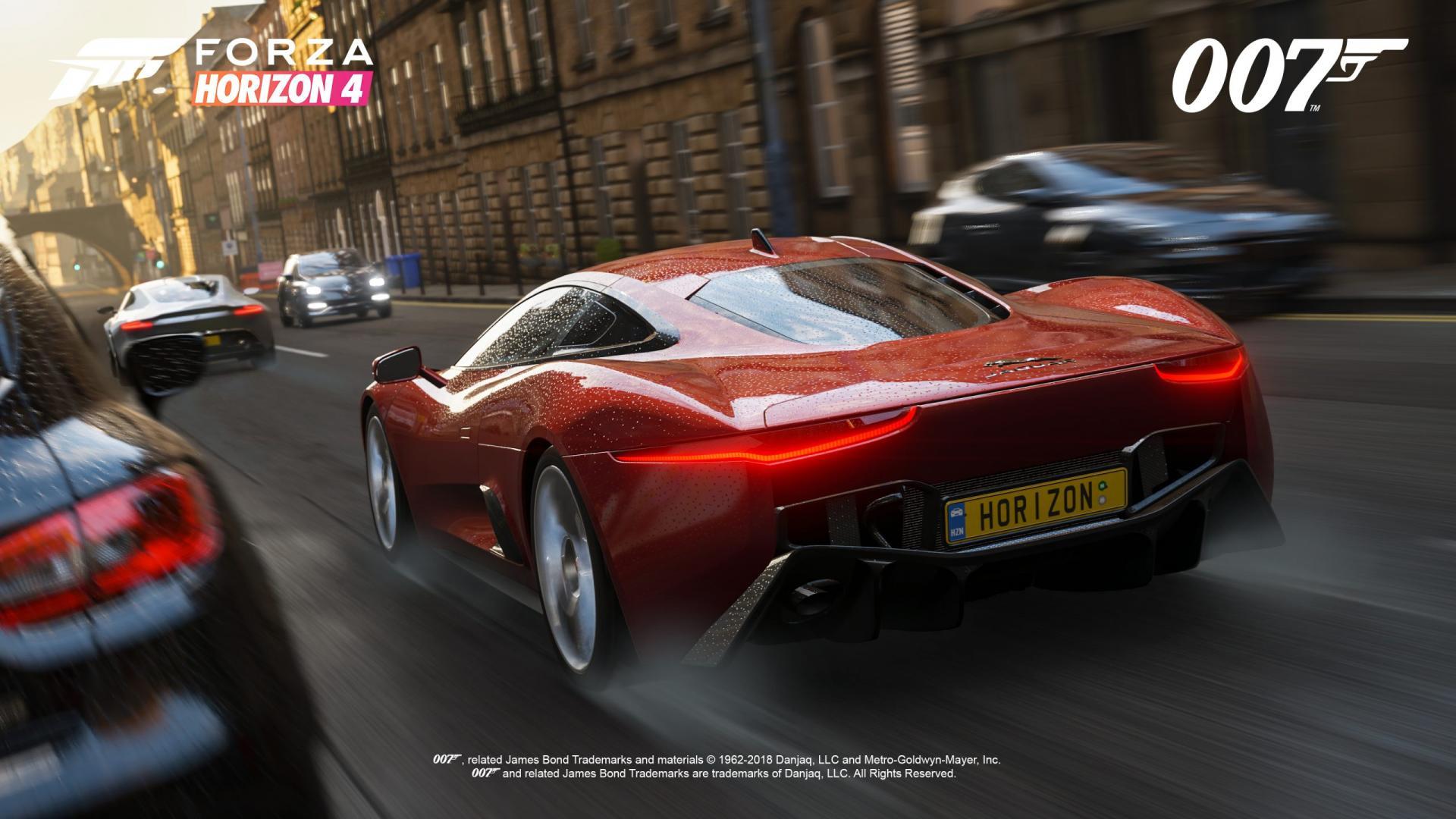 FH4 Best of Bond Jaguar C-X75 Chase