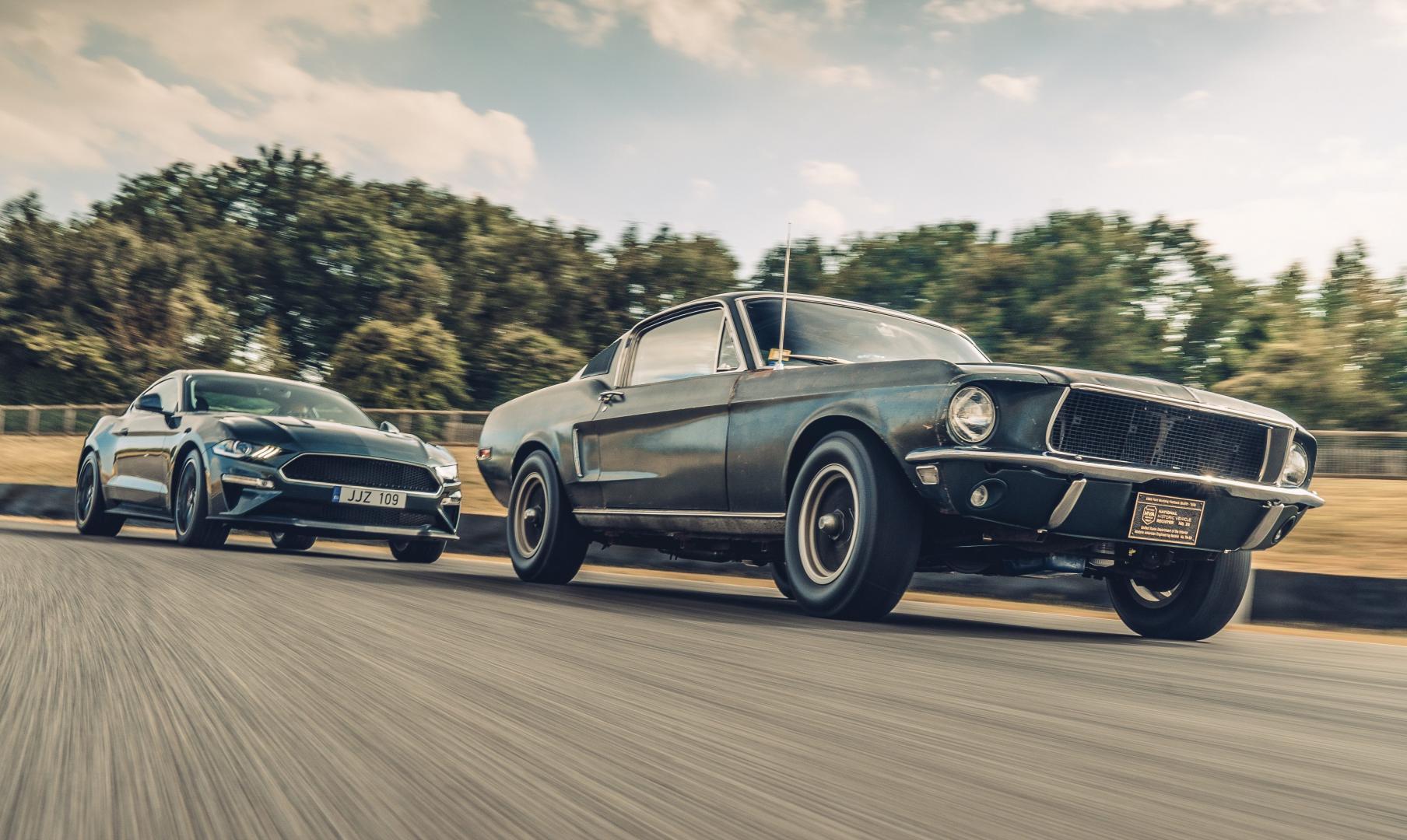 Ford Mustang GT 390 Fastback 68er Highland Green Steve McQueen The Boss