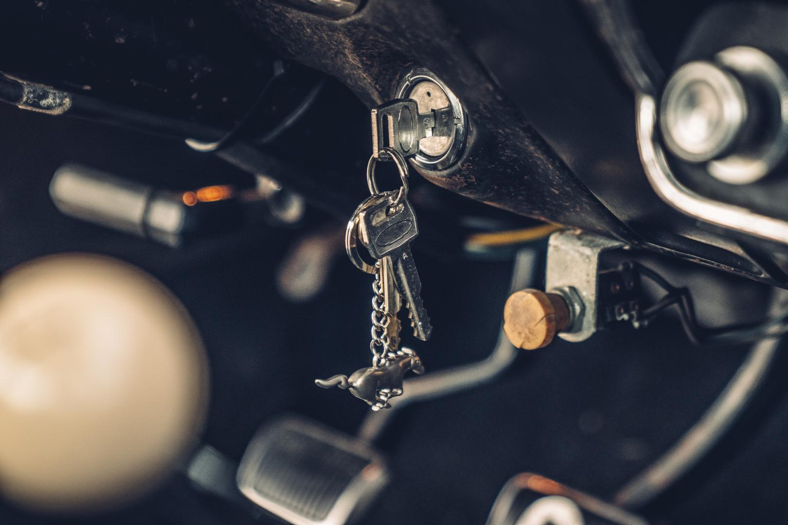 Ford Mustang GT 390 Fastback 68er Highland Green Steve McQueen The Boss sleutels