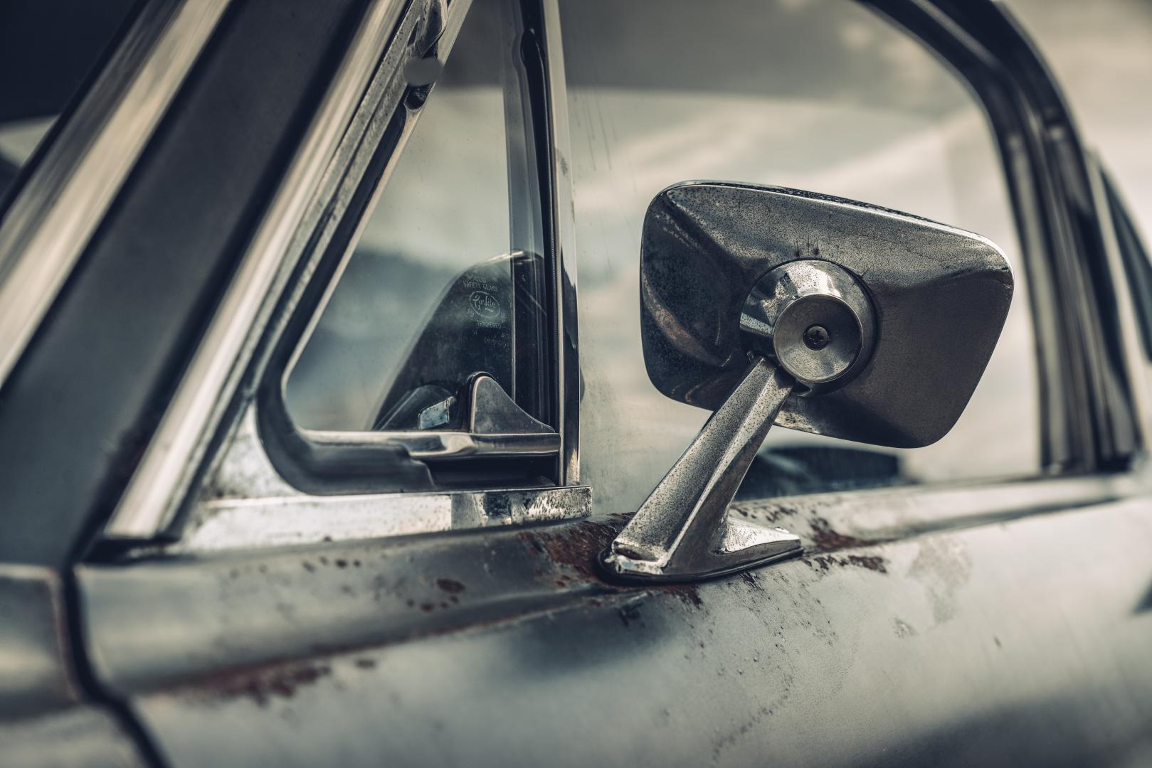 Ford Mustang GT 390 Fastback 68er Highland Green Steve McQueen The Boss spiegel