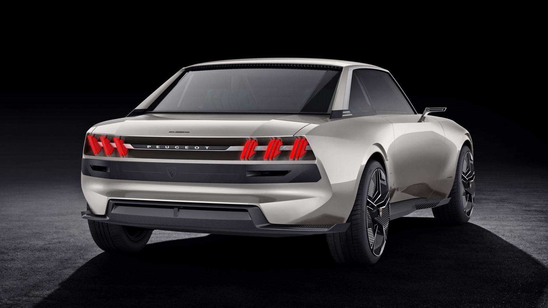 peugeot e legend concept gaat 450 pk te boven topgear. Black Bedroom Furniture Sets. Home Design Ideas