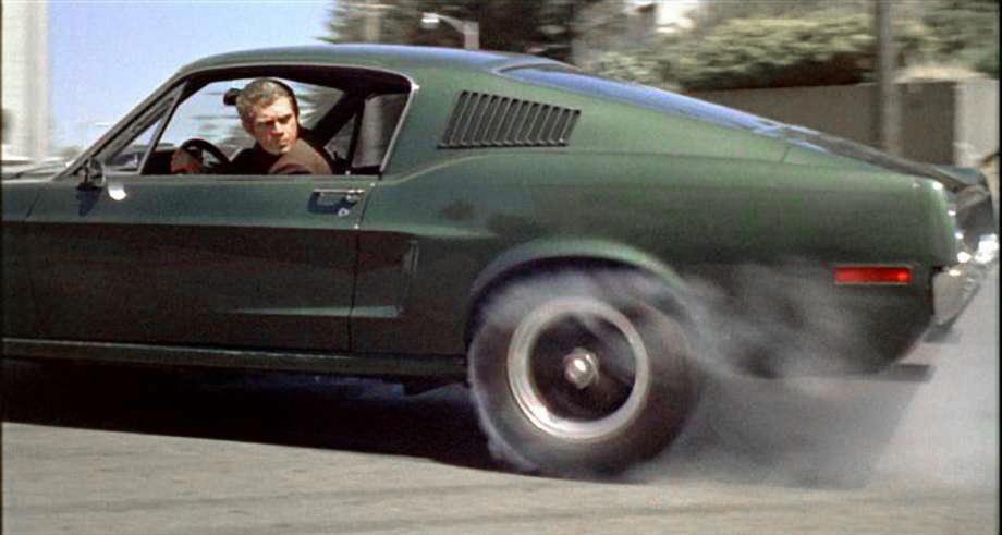 Steve McQueen Ford Mustang Bullitt GT 390 Fastback