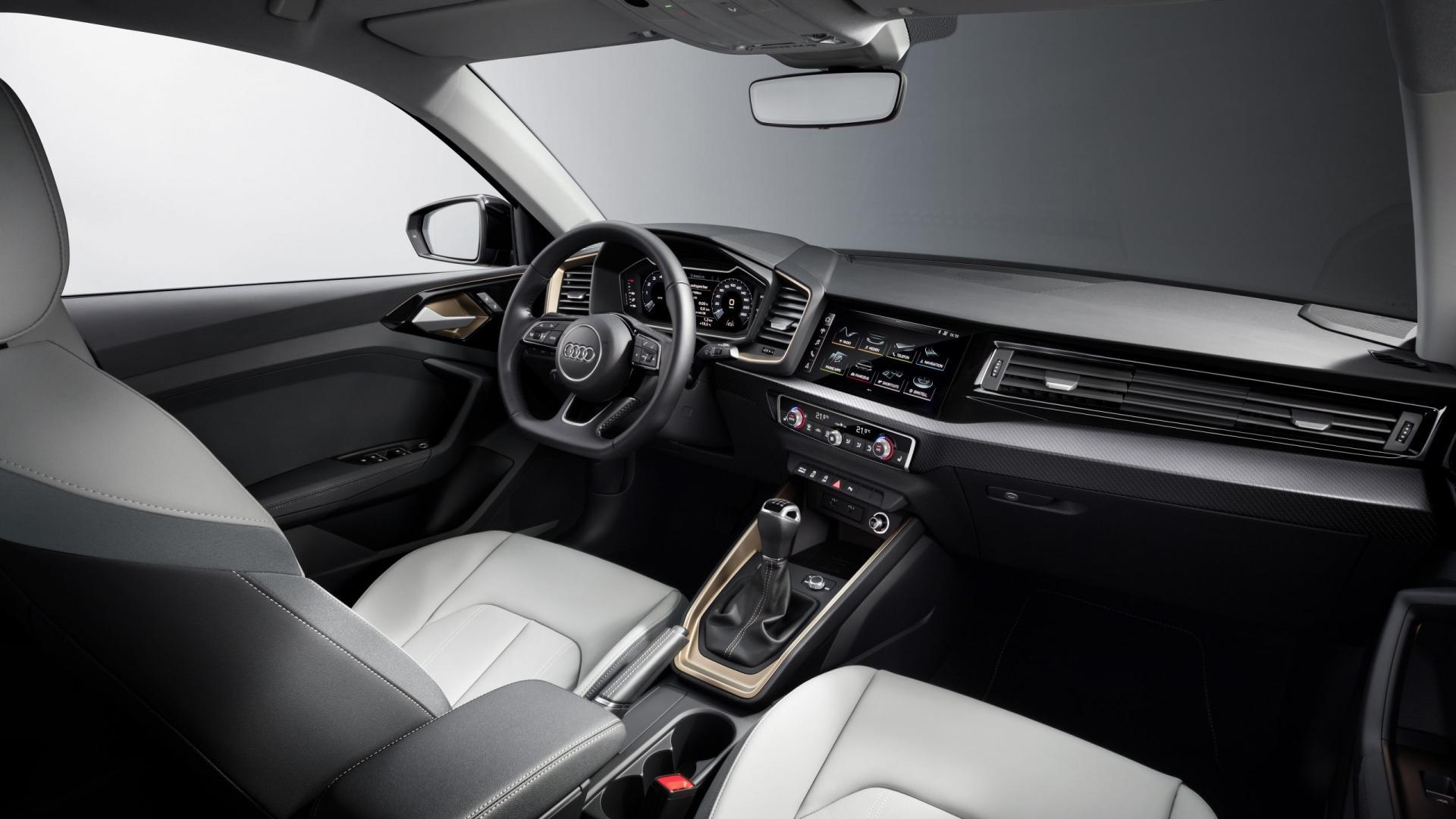 Audi a1 interieur 2018