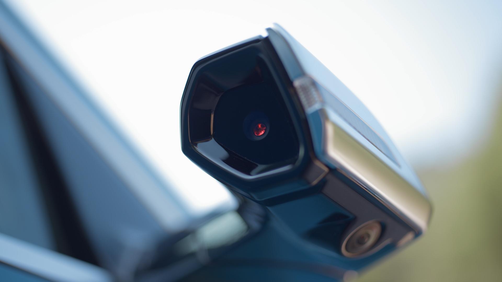 Audi E-Tron digitale buitenspiegels