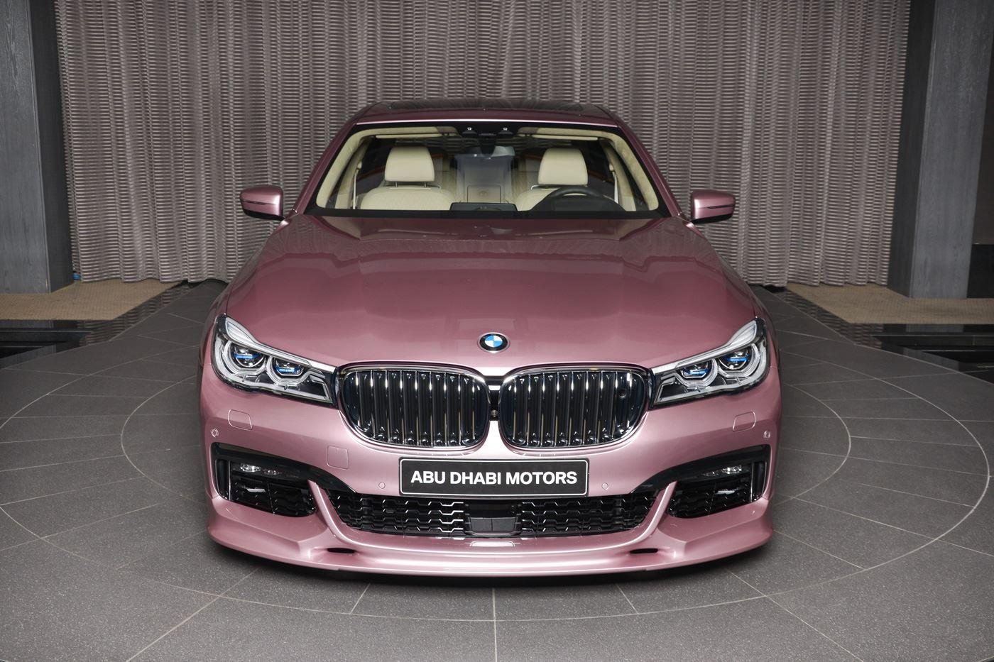 BMW 750Li in Rose Quartz