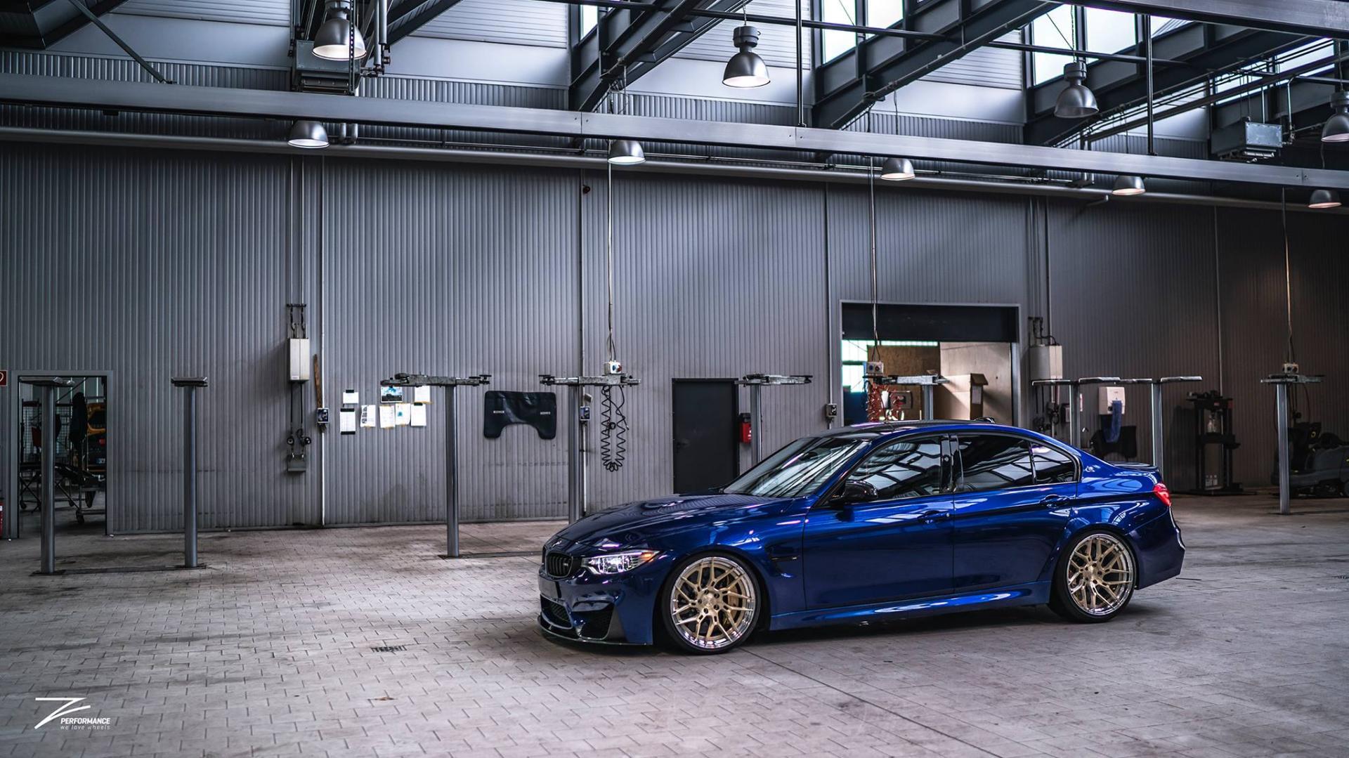 BMW M3 F80 gouden wielen