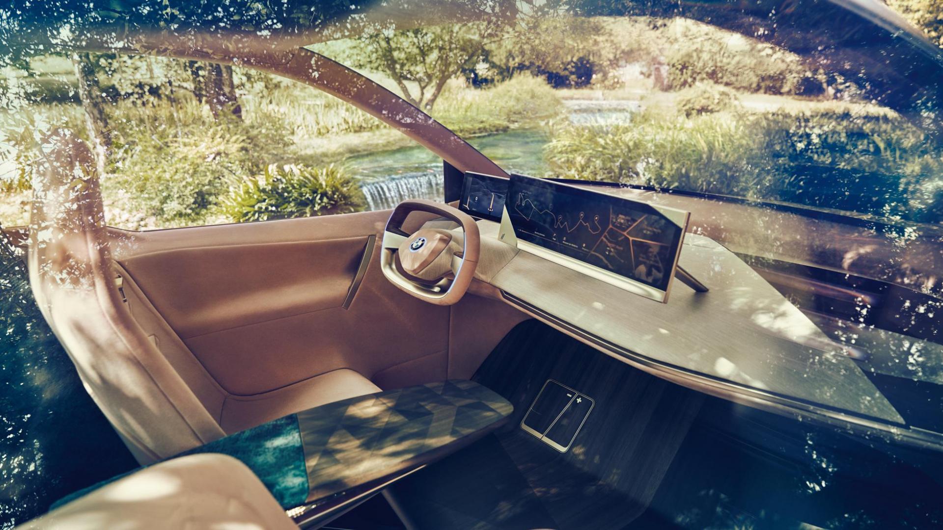 BMW Vision iNext concept interieur