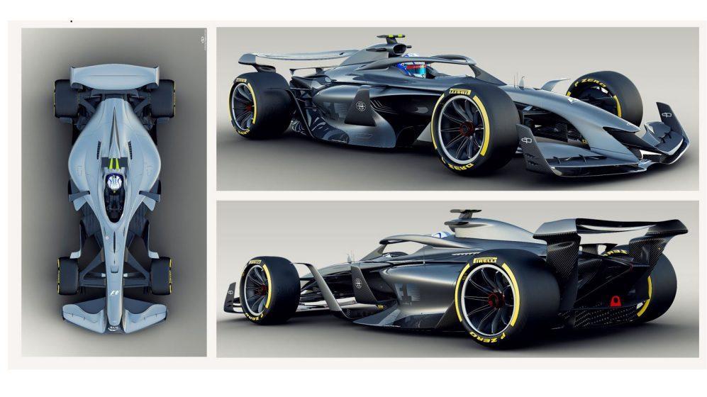 De F1-autos van de toekomst volgens F1