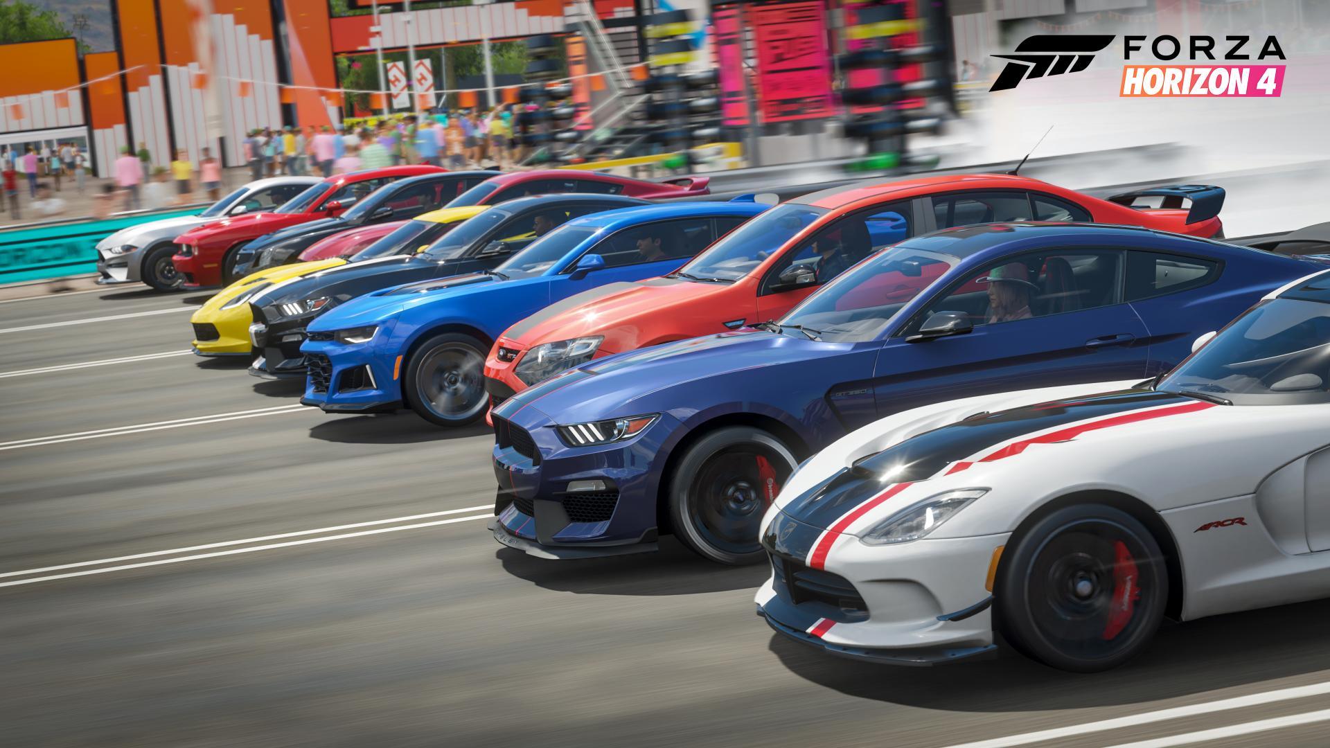 Forza Horizon 4 dragrace