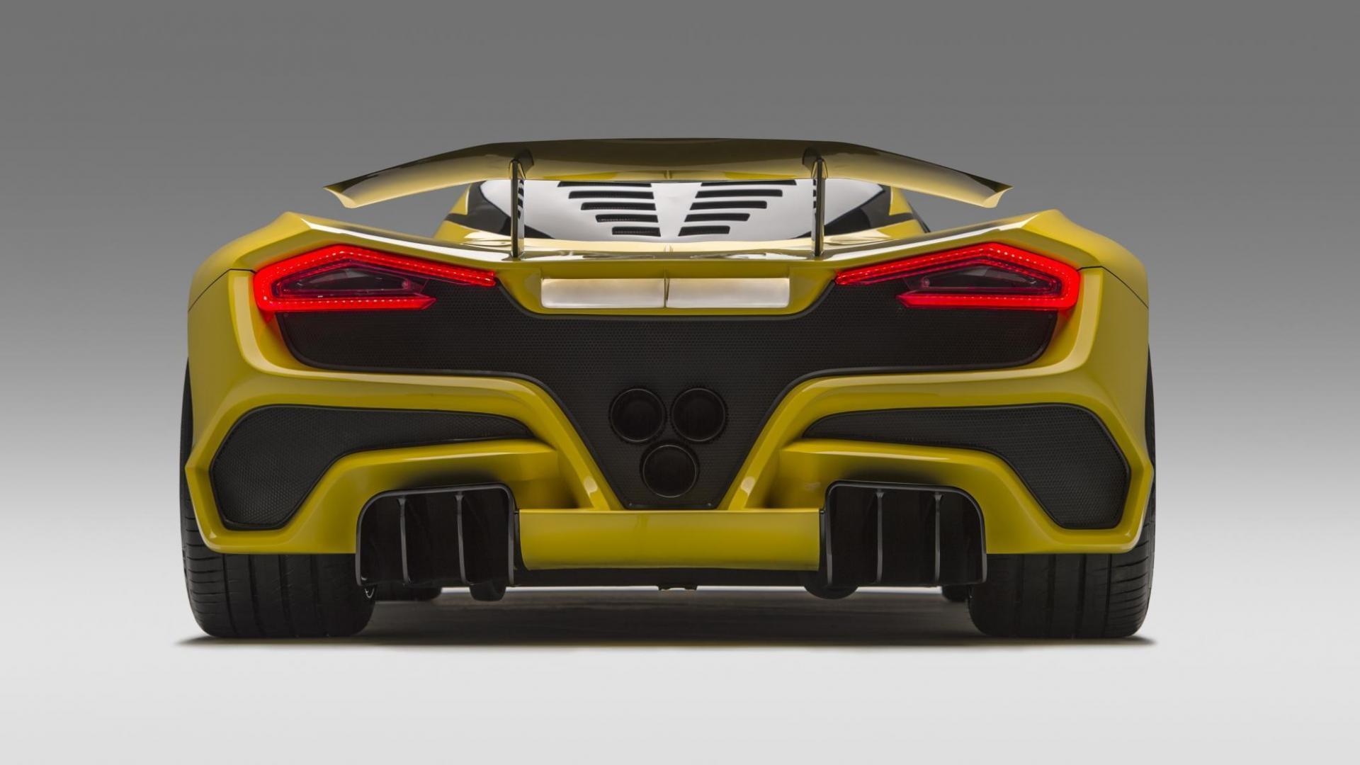 Hennessey Venom F5 achterkant
