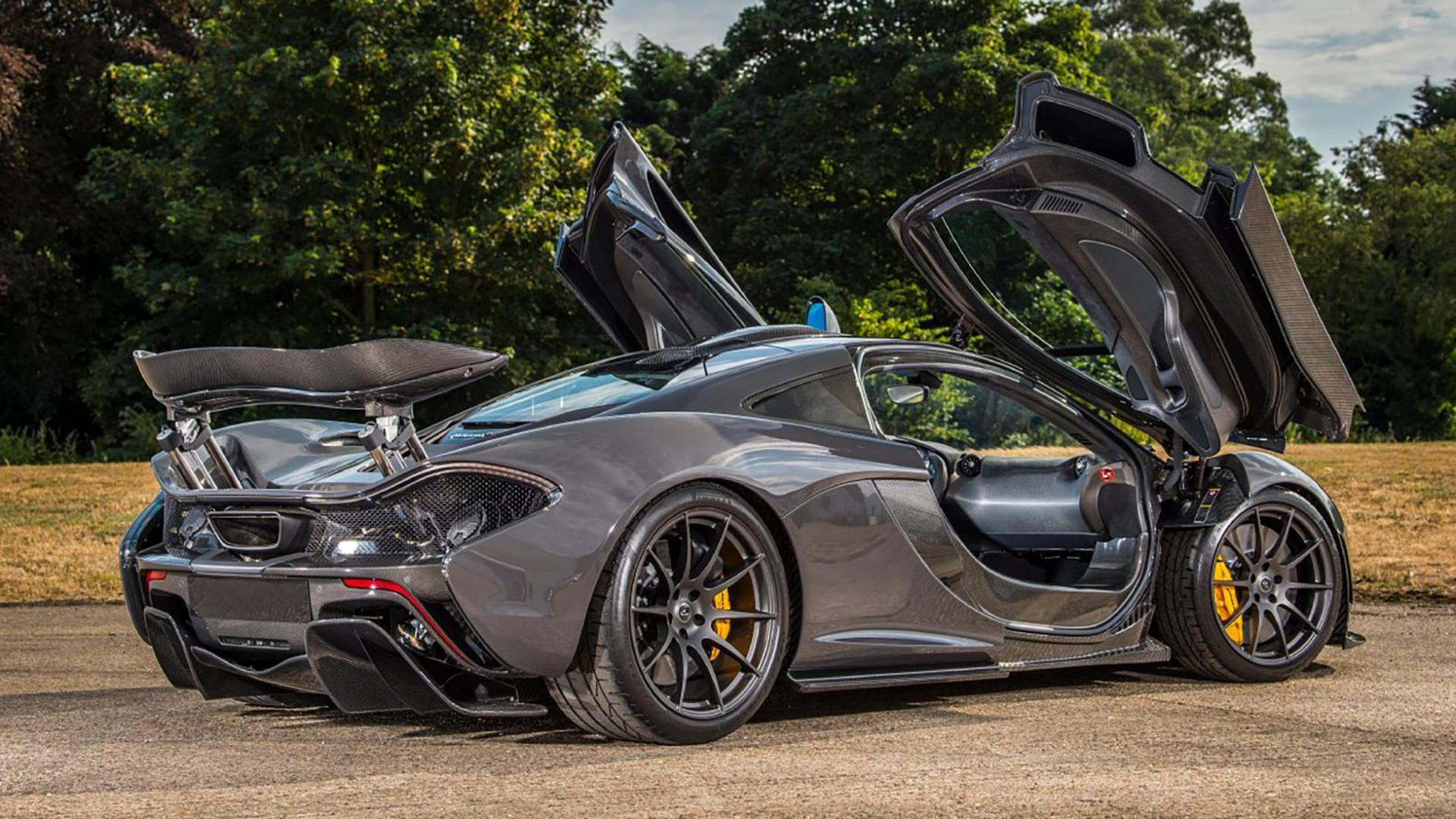 McLaren P1 Jenson Button