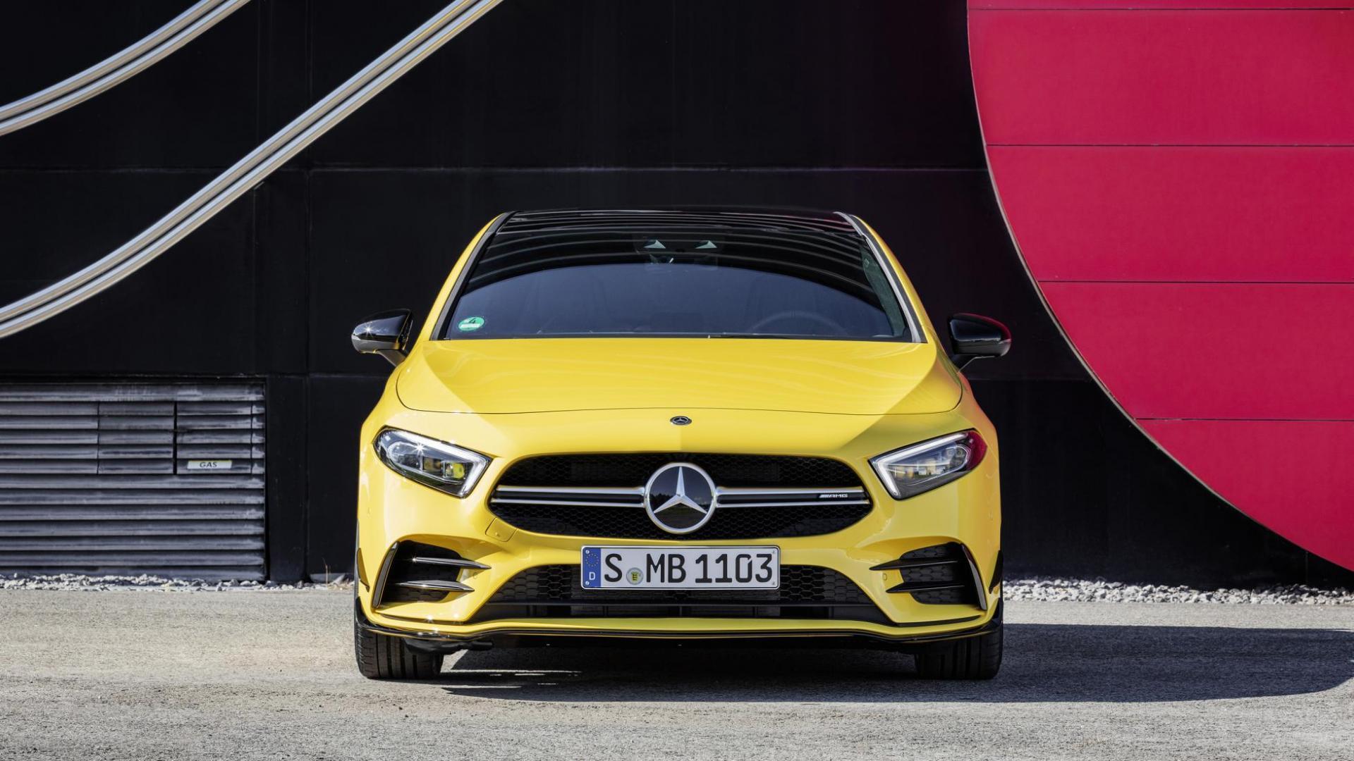 Mercedes-AMG A35 hot hatch