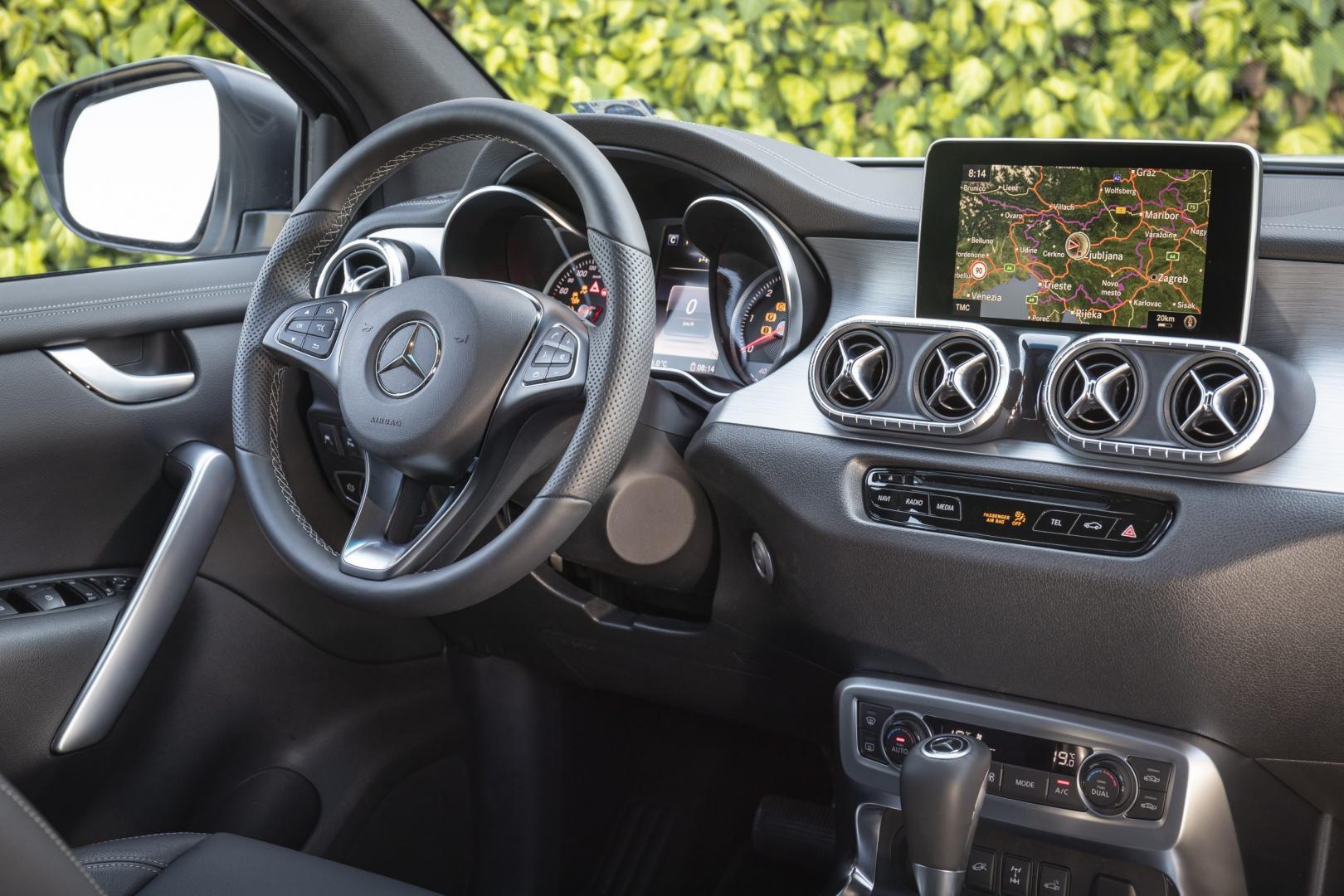 Mercedes X350d4Matic 2018