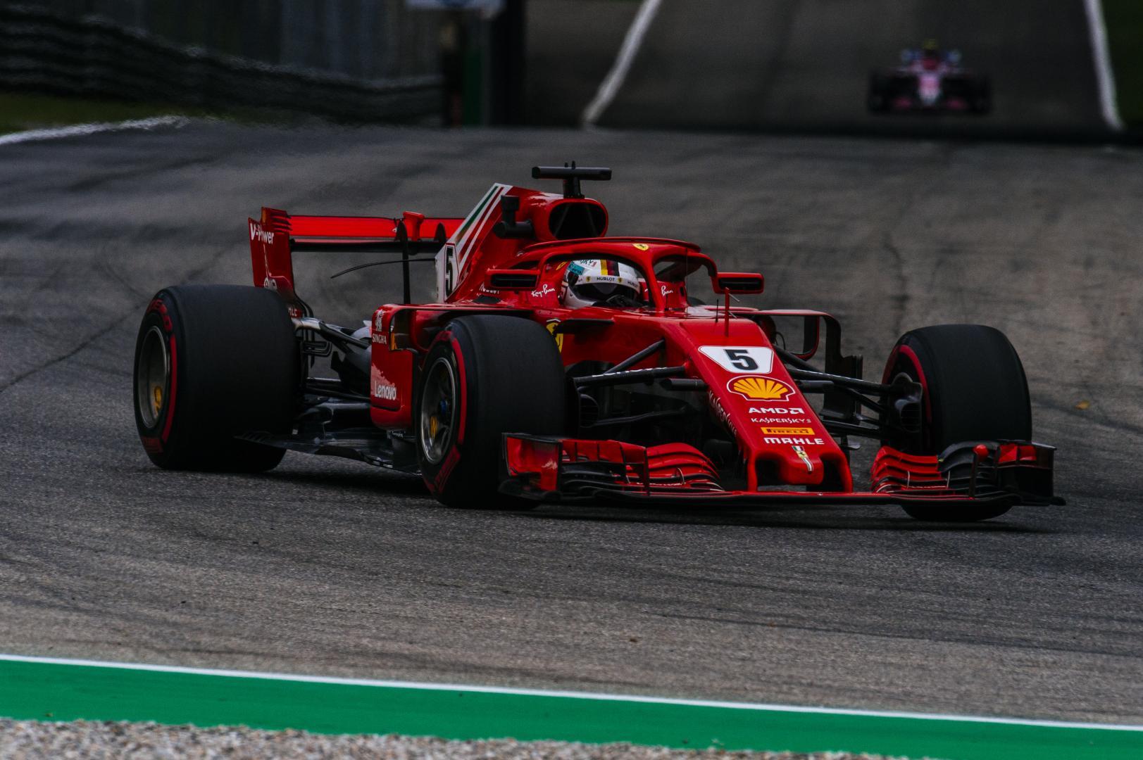 Uitslag van de GP van Italië 2018
