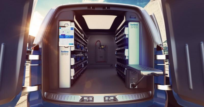 Volkswagen ID Buzz Cargo concept laadruimte