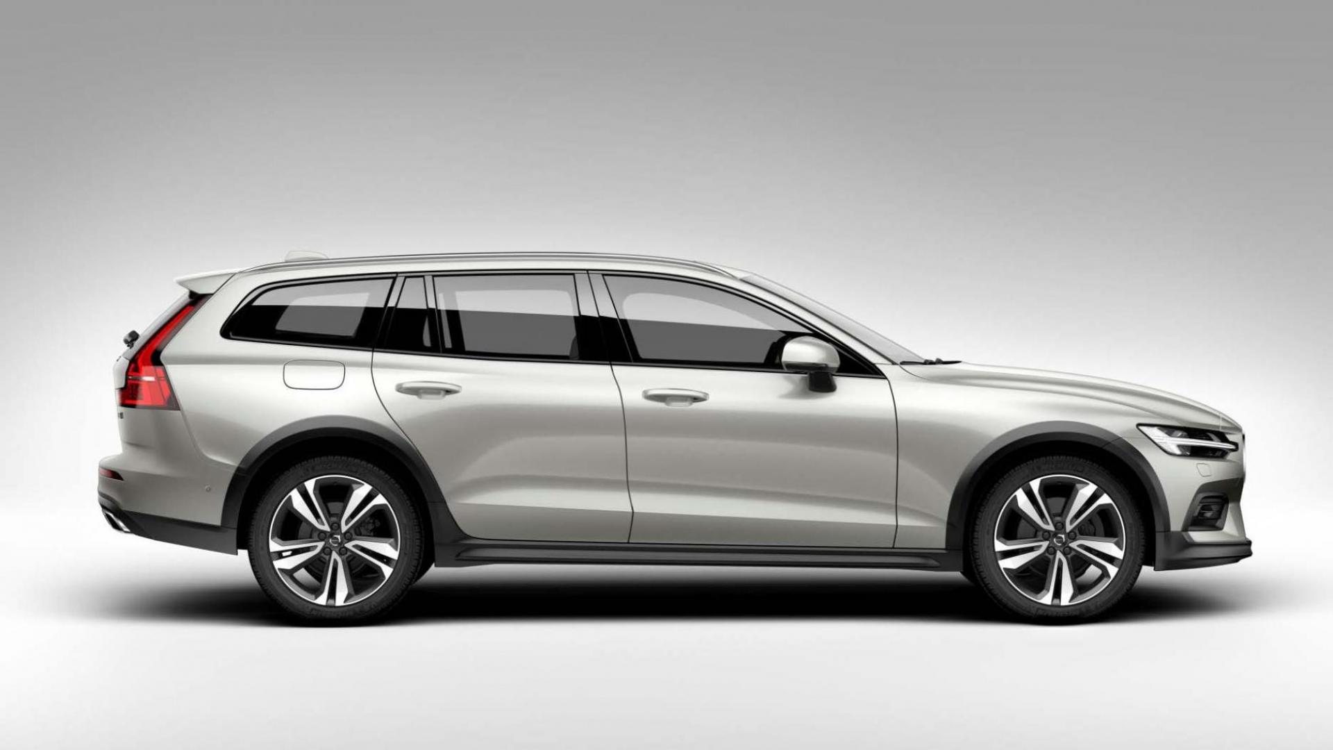 Volvo V60 Cross Country zijkant