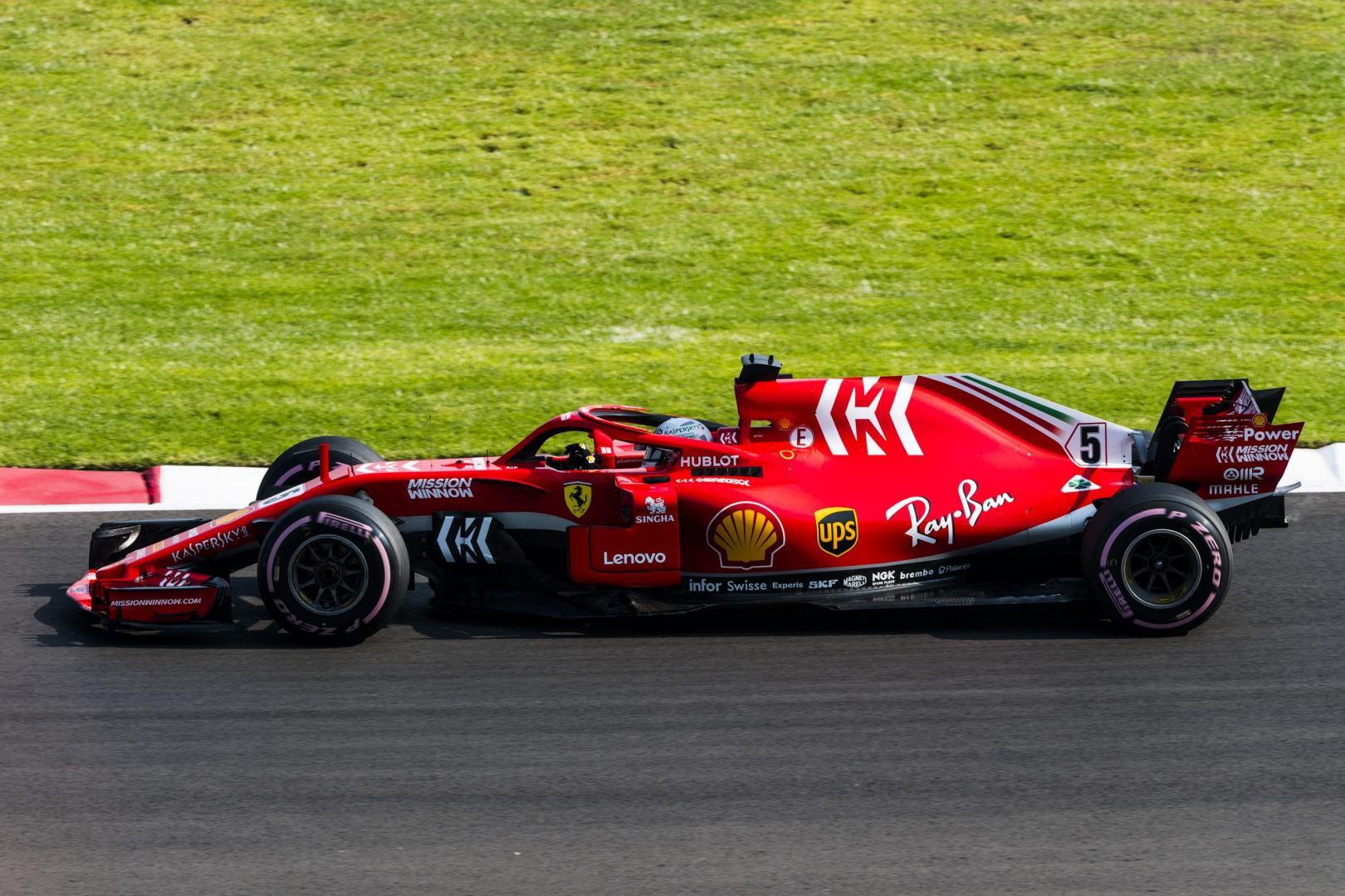 1e en 2e vrije training van de GP van Mexico 2018