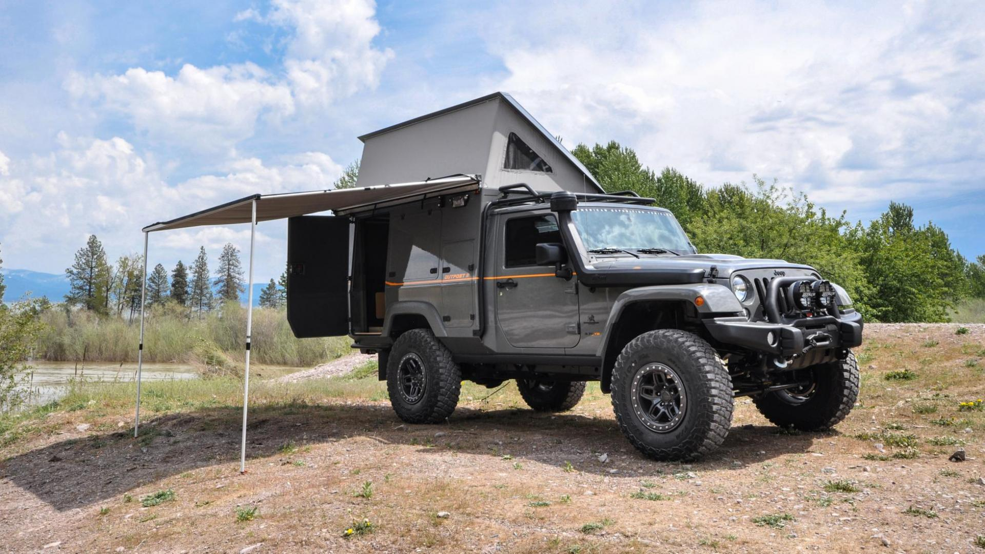 AEV American Expedition Vehicles Jeep Wrangler Outpost II