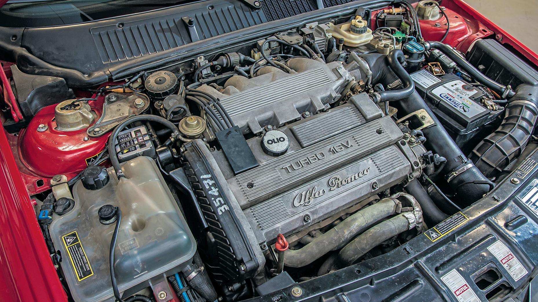 Alfa Romeo 155 GTA Stradale motorblok