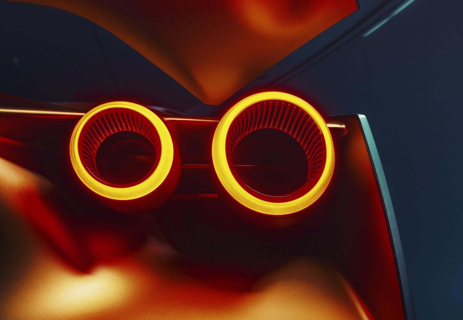 Italdesign Nissan GT-R50 achterlichten
