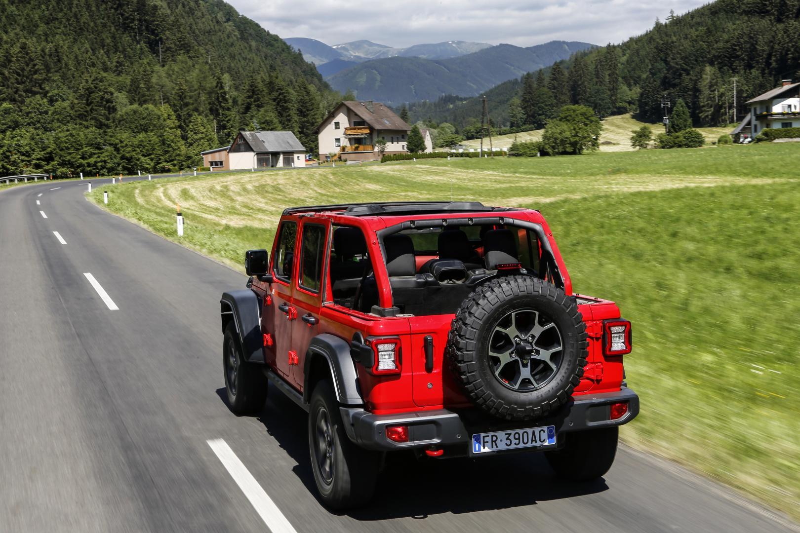 Jeep Wrangler 2.2 MultiJet II Rubicon Softtop 2-deurs