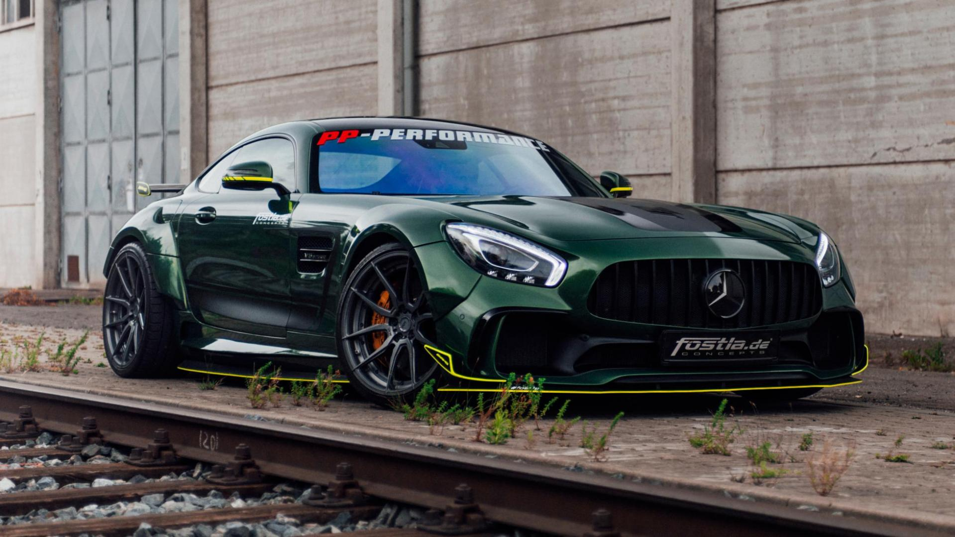 Mercedes-AMG GT met widebody-kit van Prior Design Fostla