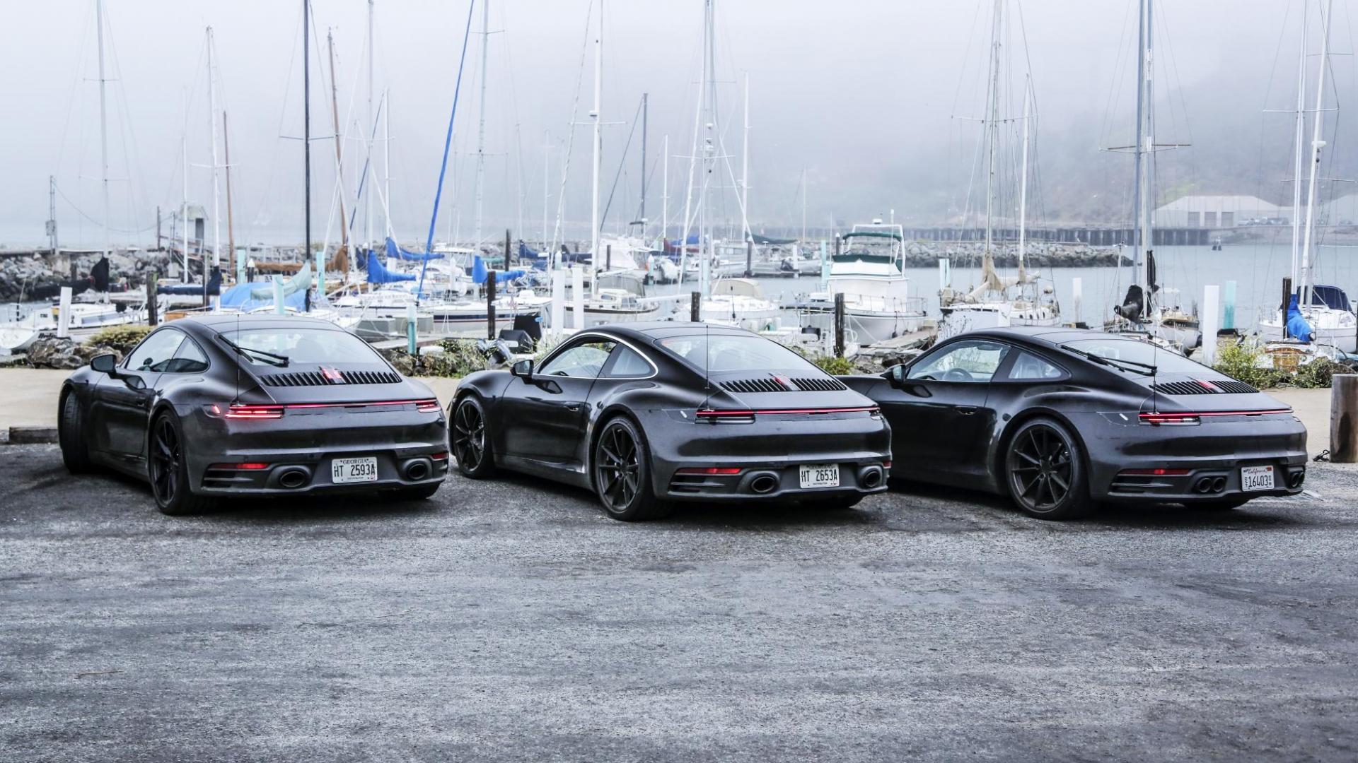 Porsche 911 hybride in de toekomst
