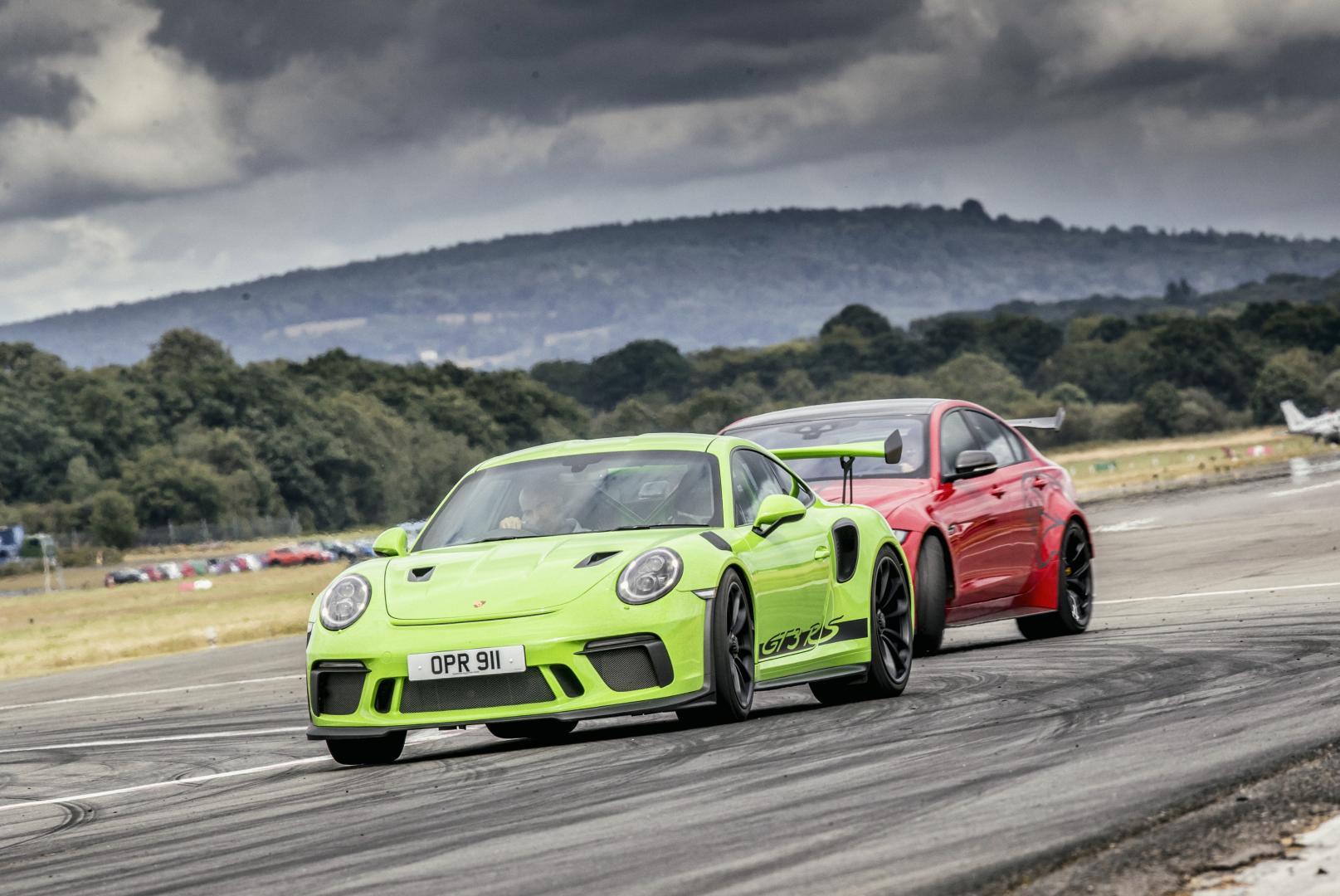 Porsche Cayenne Turbo en 911 GT3 RS