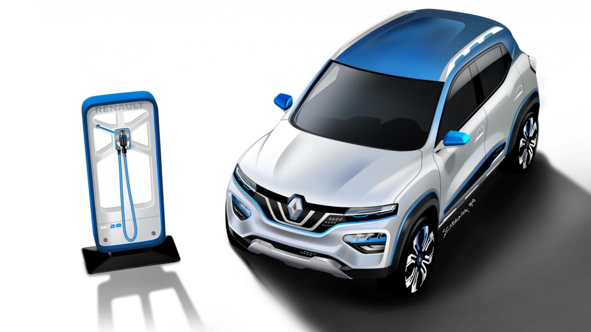 Renault K-ZE Autosalon van Parijs 2018