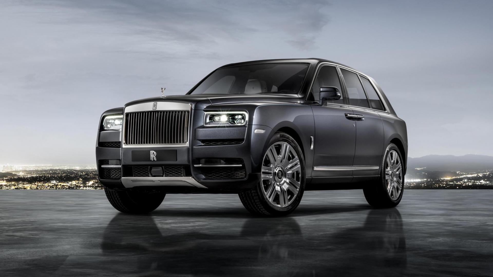 Rolls-Royce Cullinan 1e rij-indruk