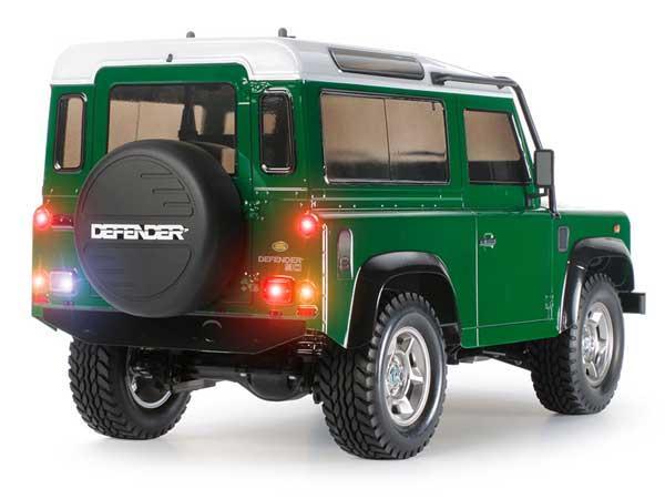 Tamiya Land Rover Defender 90 schaalmodel