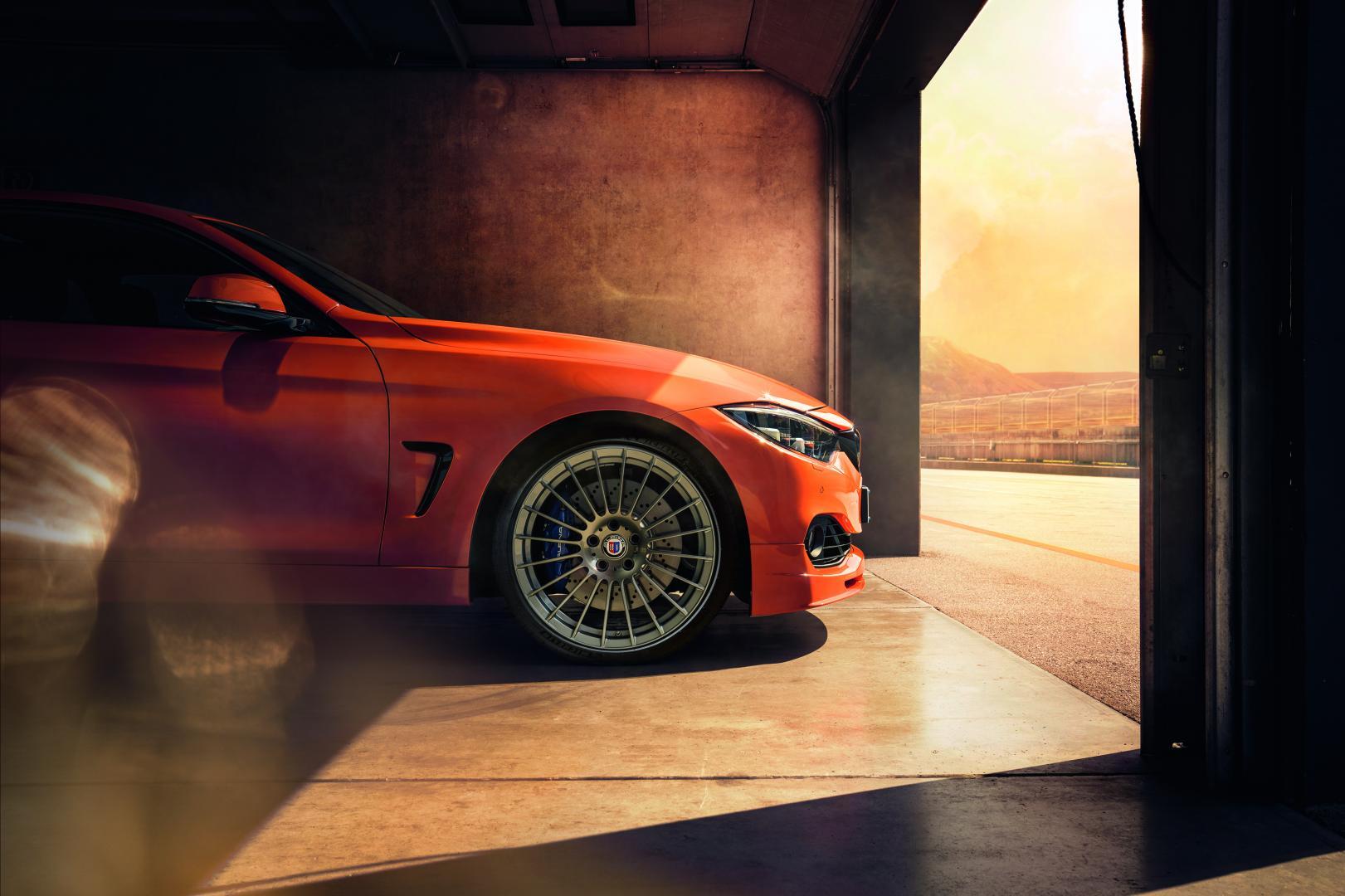Alpina B4 S Bi-Turbo Edition 99 fire orange
