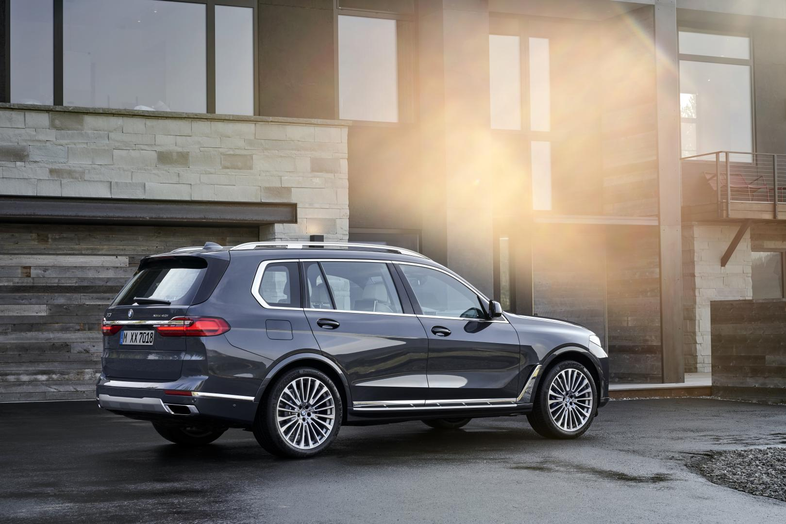 bmw x7 oprit