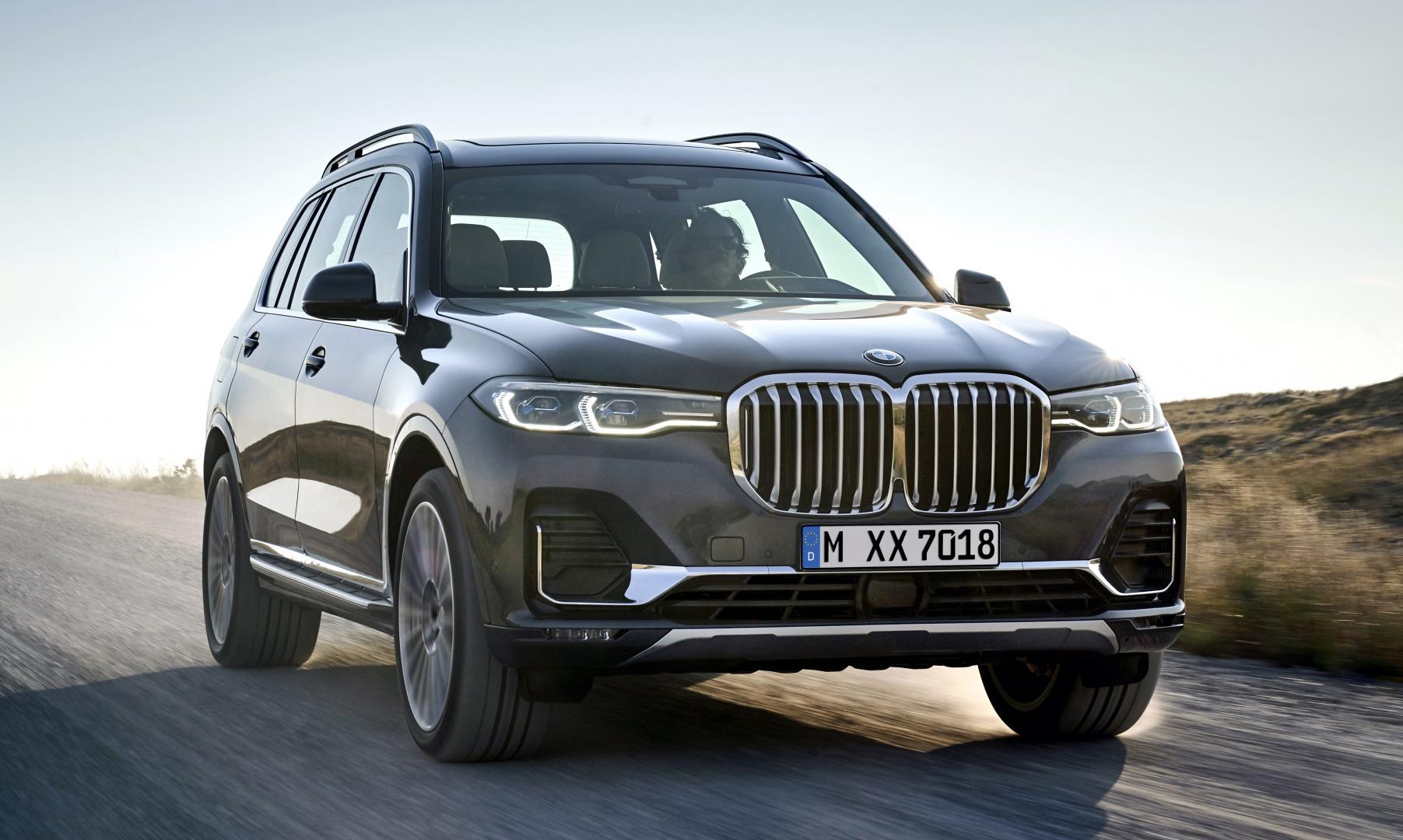 BMW X7 nieren grille