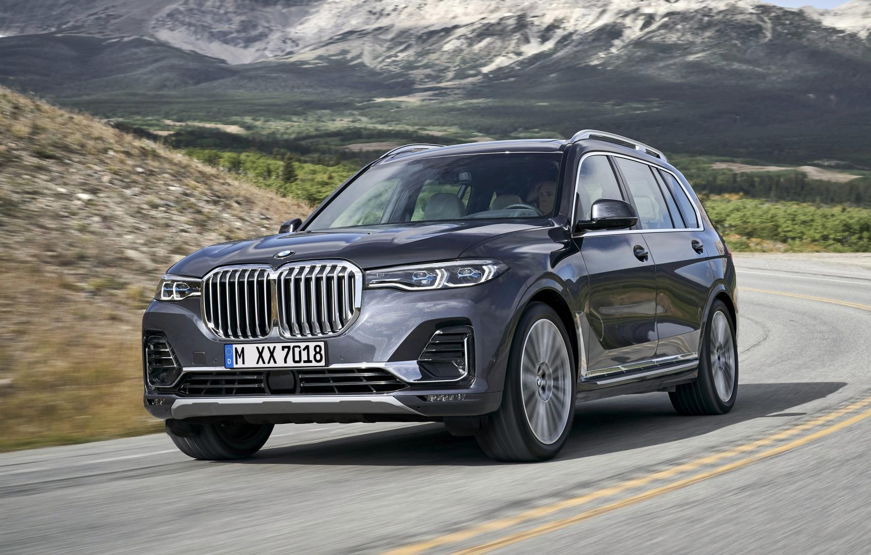 BMW X7 2018 voorkant