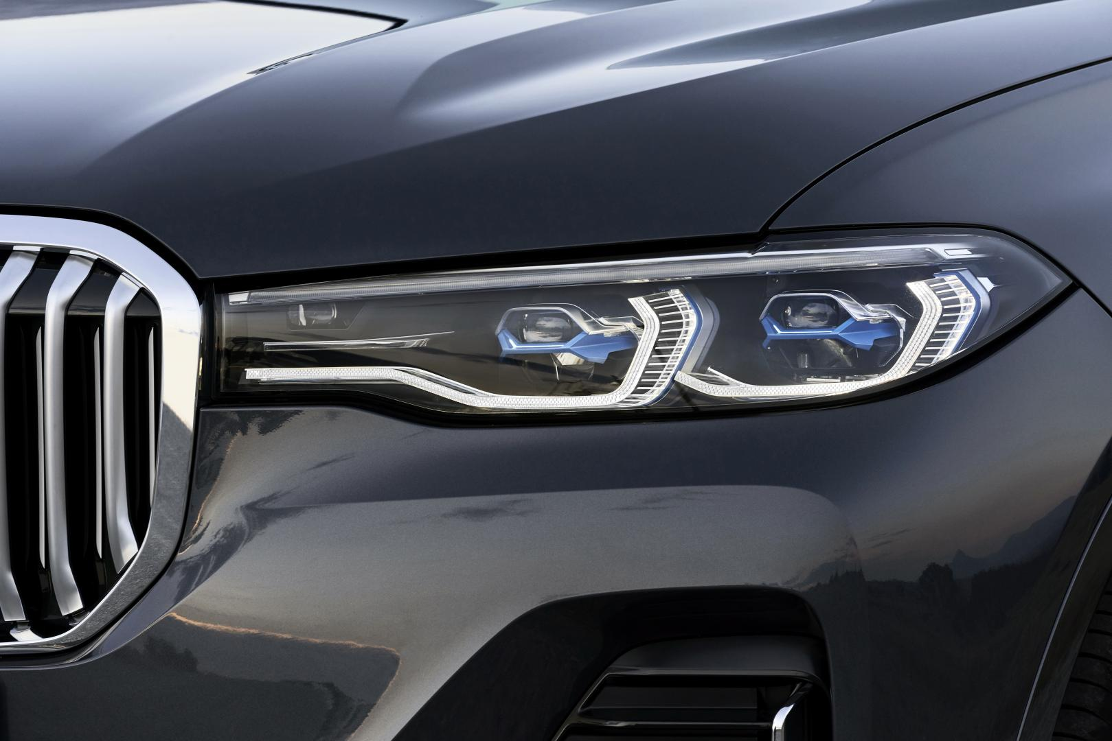 bmw x7 koplamp laser